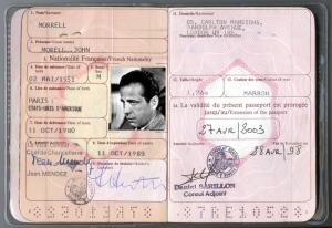 John Morrell Passport