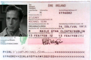 Michael oLeary passport