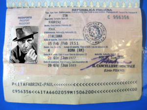 Paul Fabrini Passport