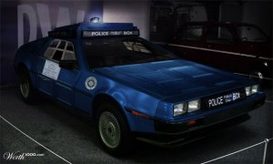 tardis-delorean
