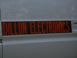 Dillon Electronics van